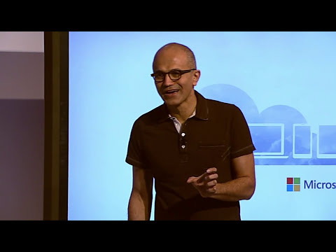 Satya Nadella announces Microsoft Office for iPad!