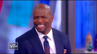 "Terry Crews Talks ""America's Got Talent"" and Gives Advice 