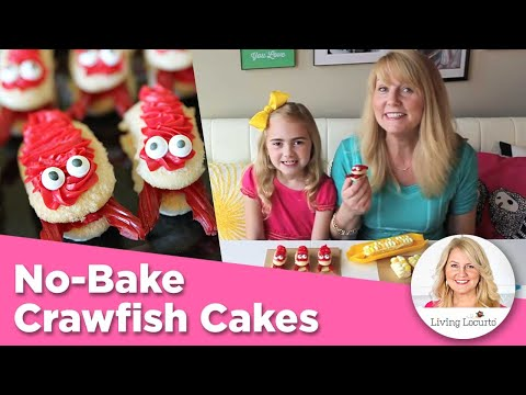 Crawfish and Corn on the Cob Cakes! Cute Food Desserts