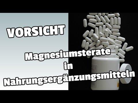Magnesiumstearat in Nahrungsergänzungsmitteln! Vermeide es wenn du kannst!