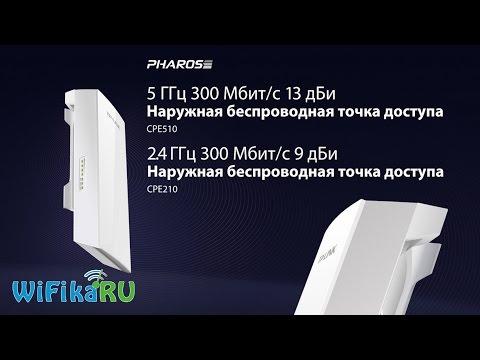 ⚠️ Внешняя точка доступа WiFi Pharos - ПЕРВЫЙ ОБЗОР!