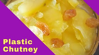 Plastic Chutney #Bengali  Recipe #Life is Beautiful