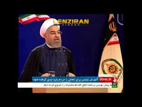 Hassan Rouhani  :Police havent  the right to execute Islam ,must be careful with women and youth !