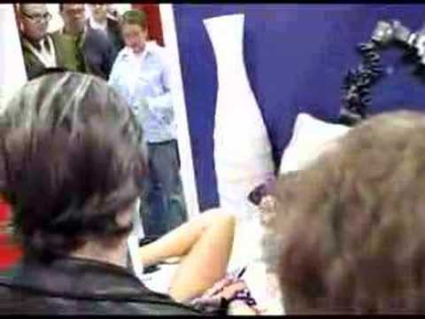 Ava Devine rips fan's underwear at AVN Expo '08 Video