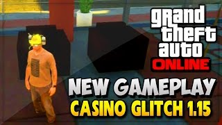GTA 5 Casino Interior Gameplay - GTA V Gameplay Glitch!! (GTA 5 Online Gameplay DLC & Glitches)