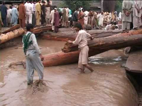 aaj tv  flood in muzaffarabad news pakge asif raza mir  azad kashmir pakistan