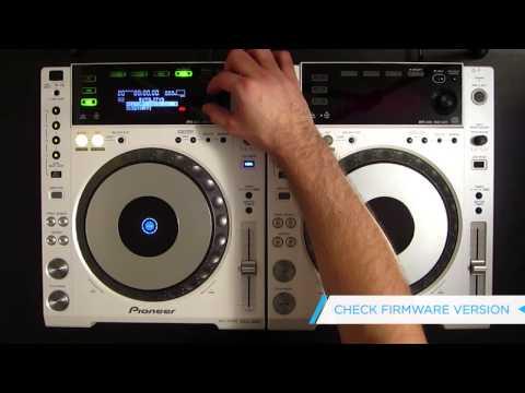 Pioneer CDJ-850 Firmware Update / Soundwave Tutorial