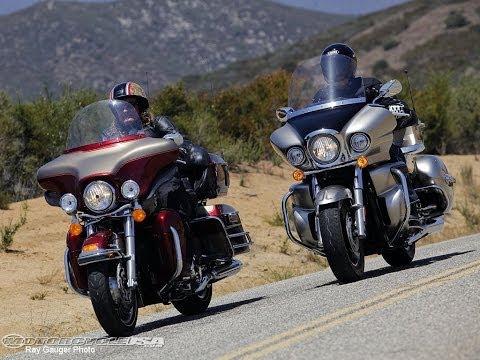 Harley Davidson Electra Glide vs Kawasaki Vulcan Review