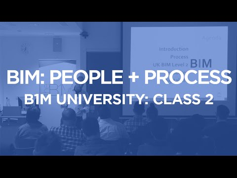 BIM: People + Process - B1M University Class 2