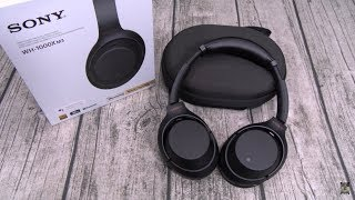 Sony WH1000XM3 Wireless Noise Canceling Over Ear Headphones