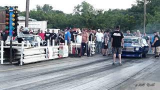 Randy Thorn VS Doc Love Big Tire No Prep Redemption at the Dale  May 2014 (Street Outlaws)