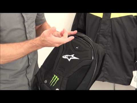 Alpinestars Monster Terror Back Pack Review from SportbikeTrackGear.com
