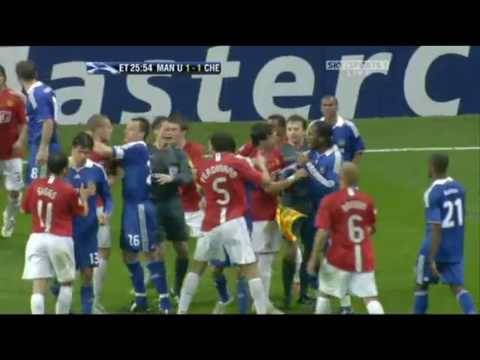 Manchester United vs Chelsea Fight
