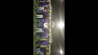 Jackson High School Purple Army Marching Band Homecoming September 30 2016