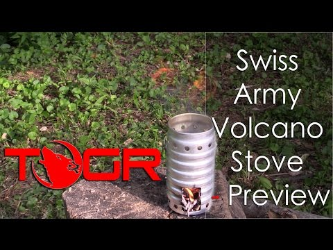 Swiss Army Volcano Stove - Preview