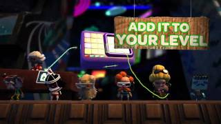 Trailer - LITTLE BIG PLANET 2 The Music Sequencer for PS3