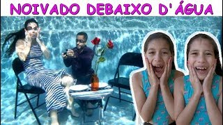 NOIVADO DEBAIXO D'ÁGUA