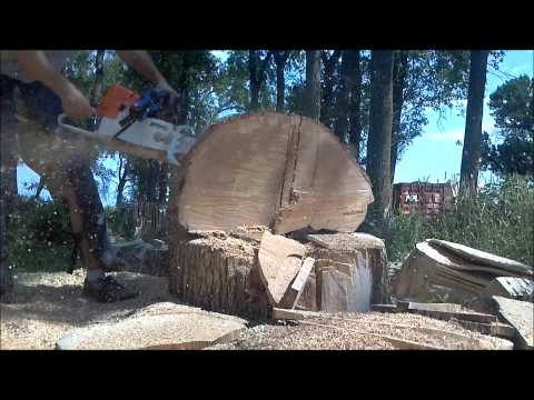 Stihl MS440 chainsaw ported
