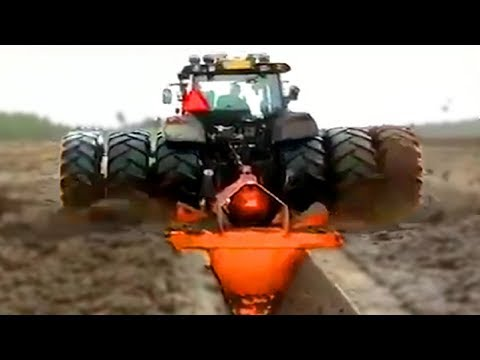 Amazing and Modern Tractors for Agriculture in Action - Heavy Machinery