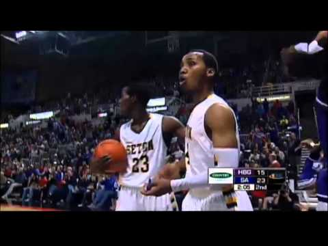 South Holland (Seton Academy) vs Harrisburg: IHSA 2A Basketball Championship Ejection