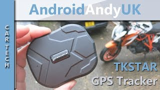 TKSTAR GPS Car and Bike Tracker - Setup, Demo and Review