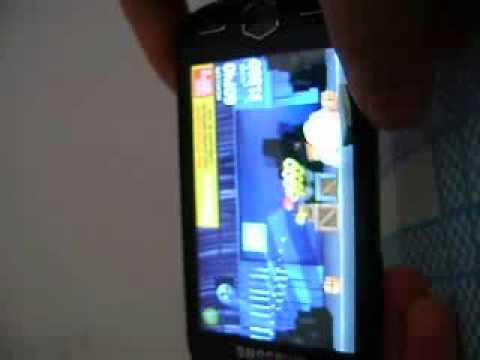 Blogão Mobile - Android  2.2 rodando no Samsung Omnia II