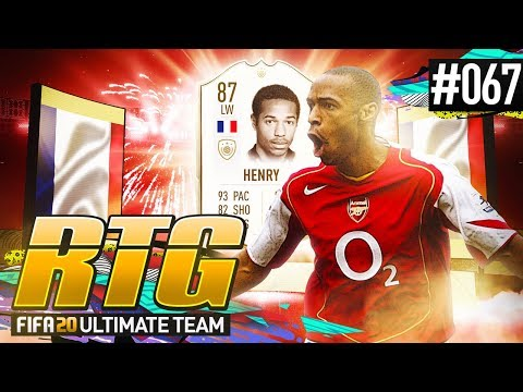 I BOUGHT THIERRY HENRY! - #FIFA20 Road to Glory! #67 Ultimate Team
