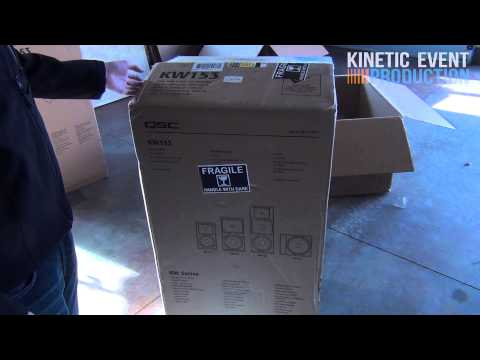 QSC KW181 and KW153 Unboxing and SPL Test