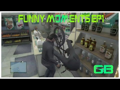 Griffiboy07 Gta 5 Funny Moments Ep1: Fun With Riddshot, Weird Garage Glitch And Miley Cyrus Blow Job video
