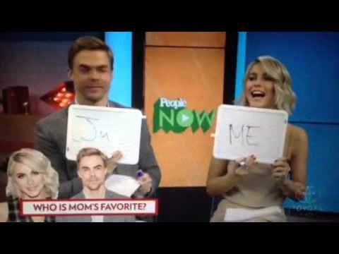 Julianne Hough and Derek Hough on People Magazine