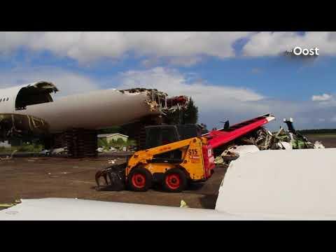Meer vliegtuigen voor demontage verwacht op Twente Airport