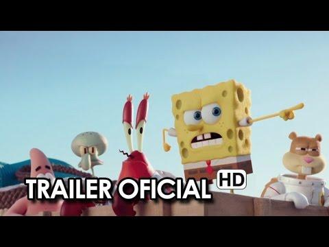 BOB ESPONJA: UN HÉROE FUERA DEL AGUA (2015) Primer Trailer Oficial