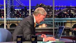 Letterman tweets his late night rivals