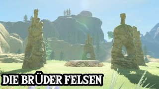 ZELDA: BREATH OF THE WILD - Schrein-Quest - Die Brüder-Felsen / Uuta-Do-Schrein Guide