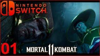 Mortal Kombat 11   Modo Historia   Nintendo Switch Capitulo 1 Español Latino