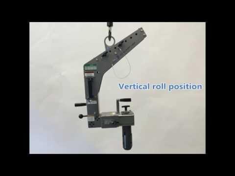 Manual Roll Turner (330lb Capacity)