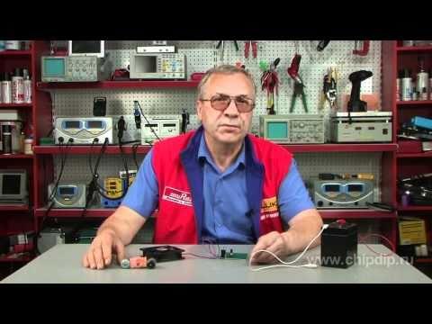 регулятор оборотов двигателя постоянного тока