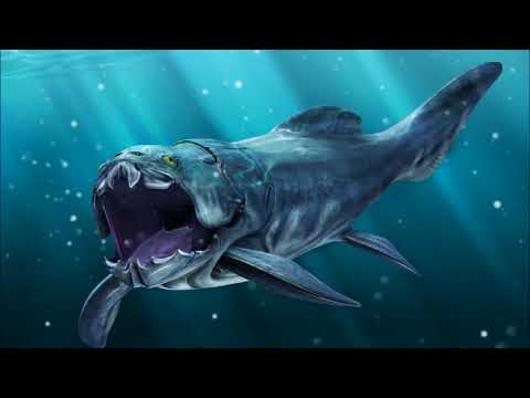 Sea monsters: Megalodon vs Dunkleosteus [Short version, Full HD]