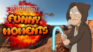 Star Wars Battlefront FUNTAGE (Funny Moments Montage) #28 - Chewbacca's Sex Tapes!