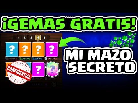 GEMAS GRATIS PARA TODOS + MI MAZO SECRETO PARA COPAS | Malcaide Clash Royale