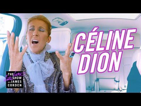 Céline Dion Carpool Karaoke