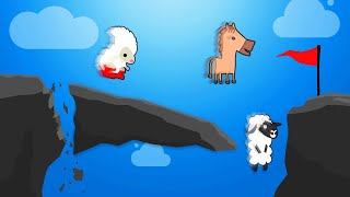 0.1% POSSIBLE TO FINISH THIS LEVEL! (Ultimate Chicken Horse)