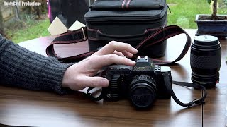 Canon T70 SLR 35mm Film Camera 1984 - RustySkull Productions