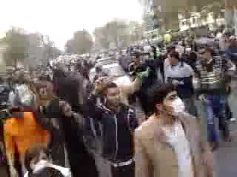 People Chant: Obama you are either  with us or with them (Islamic Regime) !!