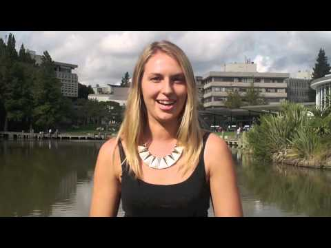 Why Study at Waikato? Interview with Erin Becht