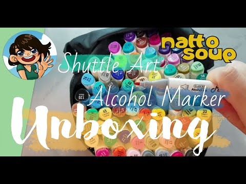 Shuttle Art Alcohol Marker Review