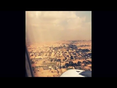 Landing At Cairo Airport(Fast Forward)