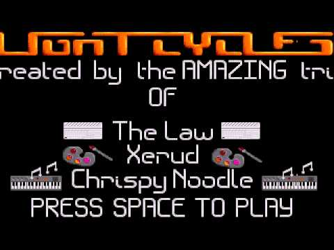 ATARI ST PROBLEM LIGHT CYCLES(OTHERGAME)FROM LAW,XERUD,CRISPY,NOODLE,TotalApathy 19xxBad Brew Crewf