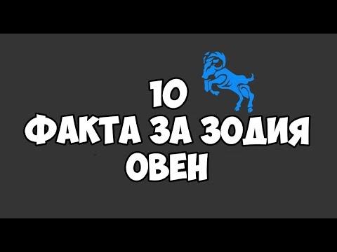 ЗОДИЯ ОВЕН   10 ФАКТА