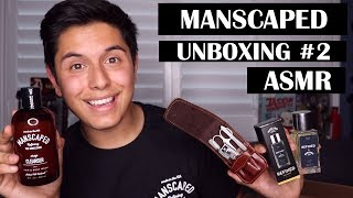 [ASMR] Manscaped Refined Cologne & MORE Unboxing Review!